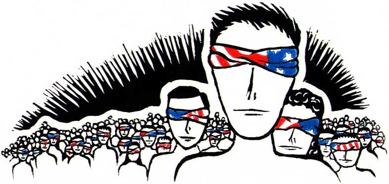 Blind Patriotism print