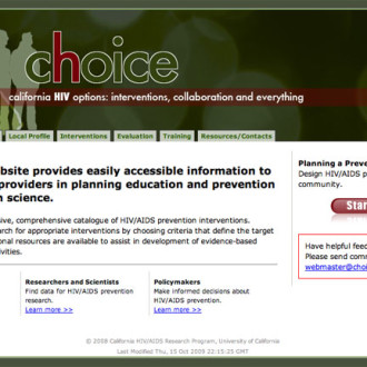 Choice HIV Website