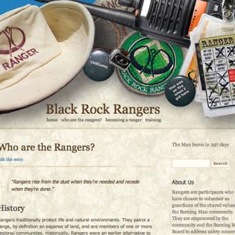 Burning Man Black Rock Rangers Website
