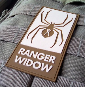Black Rock Ranger Widow Patch
