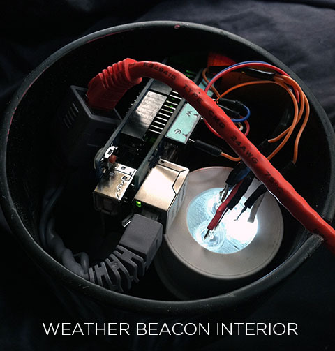 Weather Beacon Interior